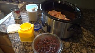 Vlogust Day 12- Crock Pot Cranberry Chicken