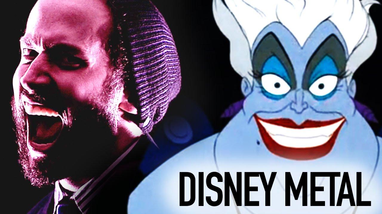 Poor Unfortunate Souls Disney's Little Mermaid   METAL COVER ...