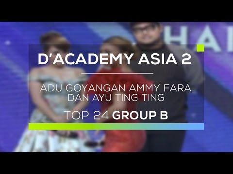 Adu Goyangan Ammy Fara Dan Ayu Ting Ting (D'Academy Asia 2)