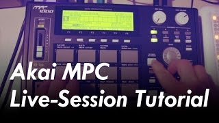 How I Jam 3/3: Live Session Akai MPC Tutorial (MPC 500, MPC 1000, MPC 2500, etc.) #TTNM