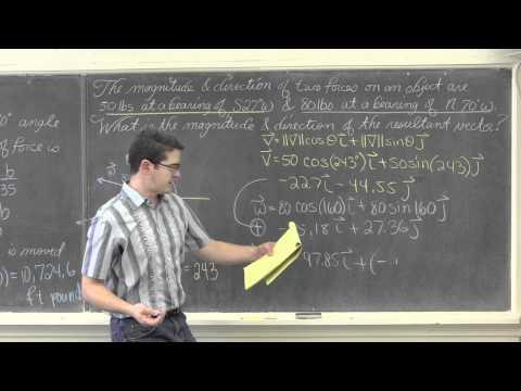 Vector Application Examples PLEASE READ DESCRIPTION