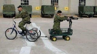 Армейские приколы - вояки жгут army fan