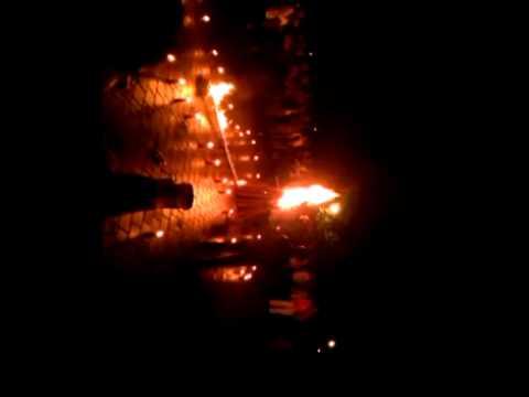 Lampion,kembang api dan Api unggun(ABM PT CBM)