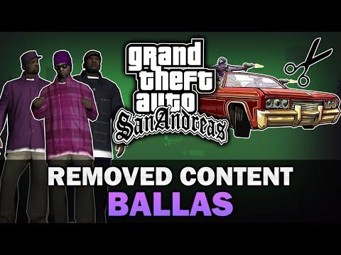 GTA San Andreas - Beta Ballas Gang [Analysis]