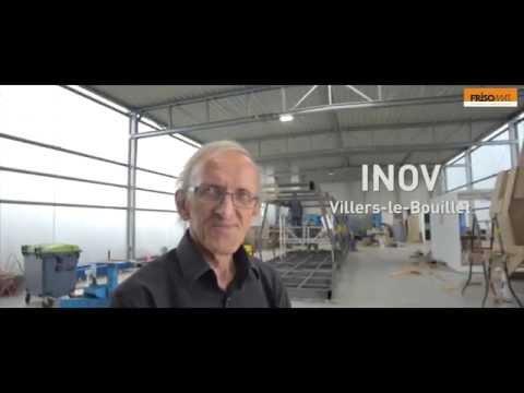 High Quality Steel Workshops & Warehouses - A designer testifies - Frisomat Industrial buildings
