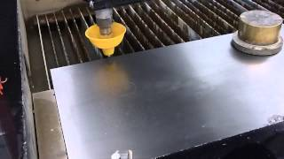 Introduction On How To Use The Waterjet Cutter