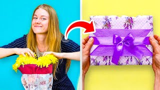 35 GENIUS GIFT WRAP IDEAS TO SAVE YOUR NERVES AND MONEY | ANYONE WILL BE HAPPY TO GET THESE GIFTS!