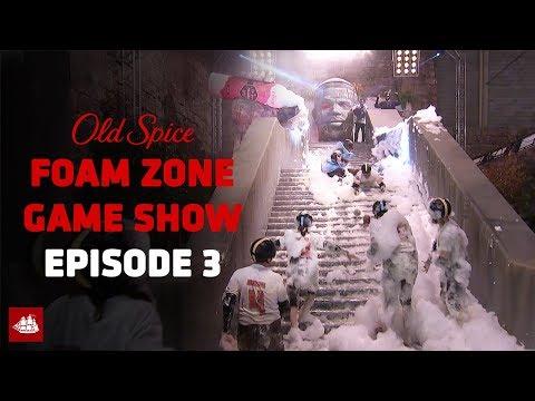 The Old Spice Foam Zone Ep 3: Foam Sweet Foam | Old Spice
