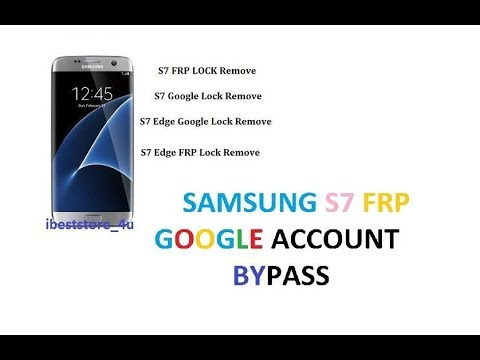 Remove FRP G930P Rev 6 - Bypass google account S7 Sprint Latest security  2018
