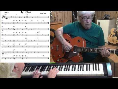 I Got It Bad - Jazz guitar & piano cover ( Duke Ellington )