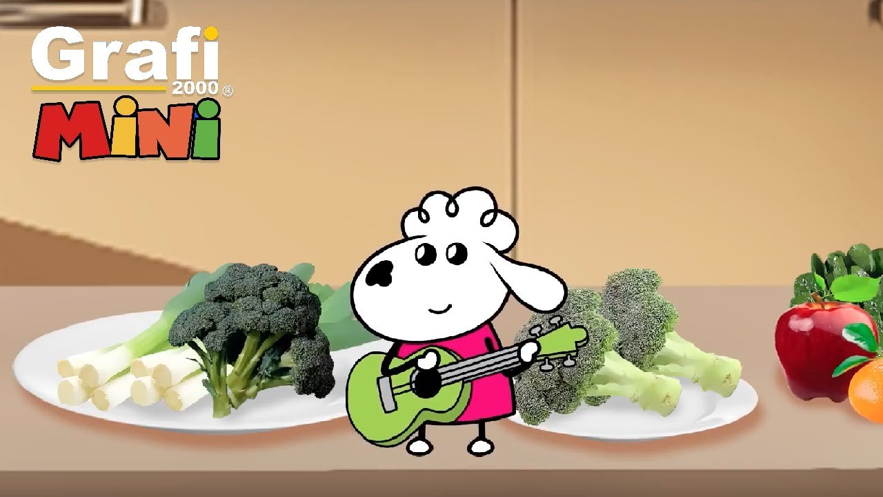 Bella Mella Mee  - Sağlıklı Ye Sağlıklı Kal (Çocuk Şarkı)