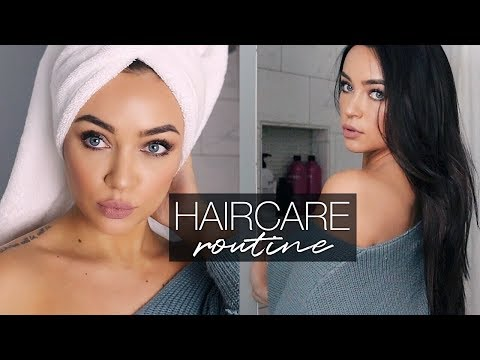 HAIRCARE ROUTINE FOR LONG, SHINY, HEALTHY...