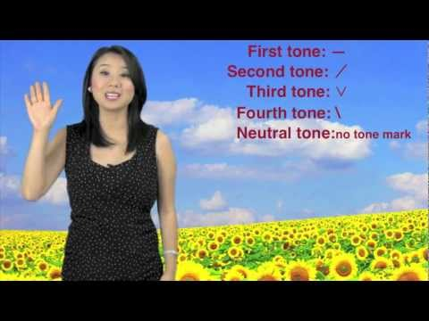 Learn Mandarin Chinese Pinyin Tones: First Tone, Second Tone, etc. ❤  Learn Chinese with Emma
