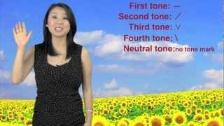 Learn Pinyin Tones: First Tone, Second Tone, Third Tone, Fourth Tone, and Neutral Tone