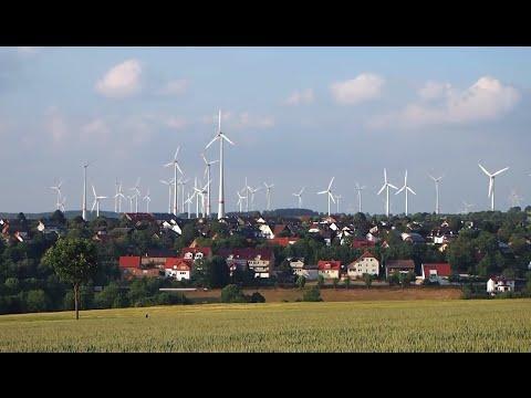 Dance of Industrial Wind Turbines