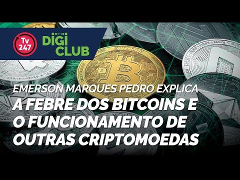 Emerson Marques Pedro explica a febre dos bitcoins e o funcionamento de outras criptomoedas