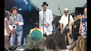 Richard Strange live at the Glade, Glastonbury 2009