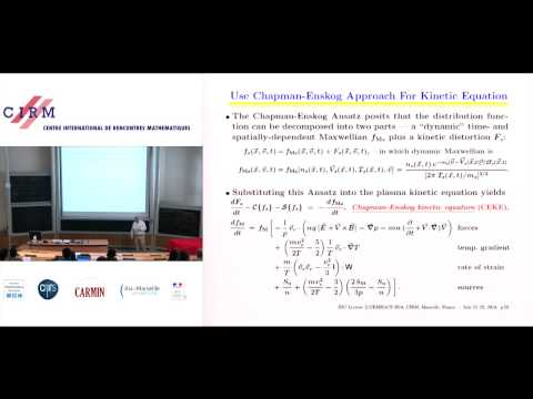 James D. Callen: Fluid and transport modeling of plasmas 2: kinetic and fluid solutions of PKE