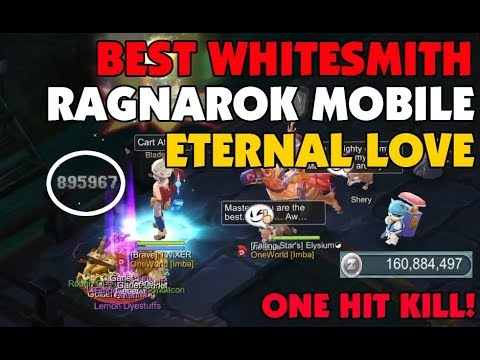 NO ONE BELIEVE I'M F2P PLAYER  BEST WHITESMITH F2P RAGNAROK MOBILE ETERNAL  LOVE SEA