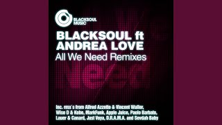 All We Need (Lauer & Canard ft Greg Note Remix)