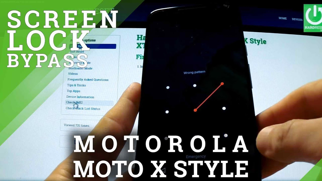 Hard Reset MOTOROLA Moto G5 - HardReset info