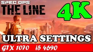 Spec Ops The Line (4K) (Ultra Settings) | GTX 1070 + i5 4690 [2160p 60fps]