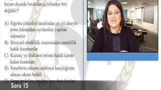 SPK İleri Düzey ve Türev Araçlar İlgili Vergi Mevzuatı Çıkmış Soru Çözümü 2
