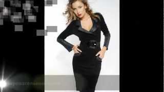 Деловые дизайнерские платья(Черные платья, платья из серого трикотажа, стильные дизайнерские платья. ., 2012-06-07T16:45:49.000Z)