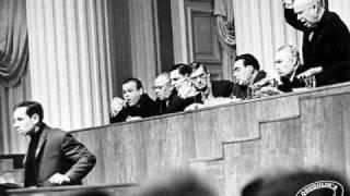 Конец оттепели: Вознесенский и Хрущев - 1963 год