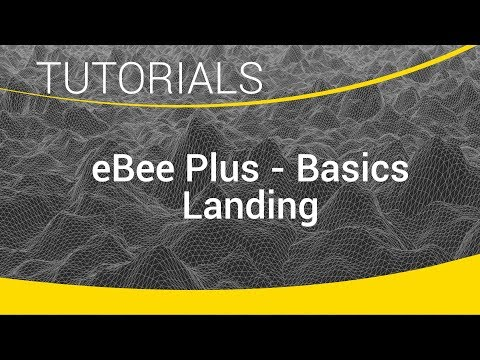 eBee Plus Survey Drone Basics - Landing
