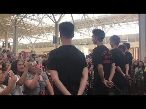 Why Don't We - Something Different live at Hulen Mall Dallas