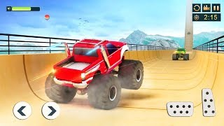Impossible Monster Truck Stunts Game | Android Gameplay - Free Games Download - Stunt Games Download