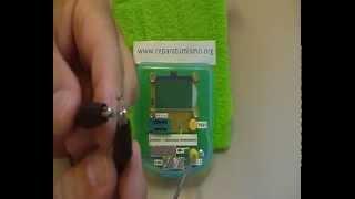MEDIDA DIODOS - USO DEL COMPROBADOR MULTICOMPONENTES ESR Meter 12864 LCD