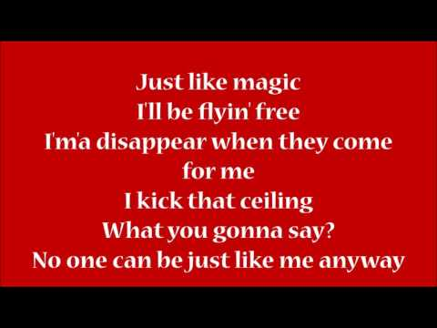 P!nk - Just Like Fire | Lyrics On Screen | HD |