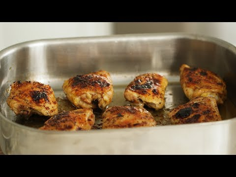 Easy Roasted Chicken Thighs- Everyday Food With Sarah Carey