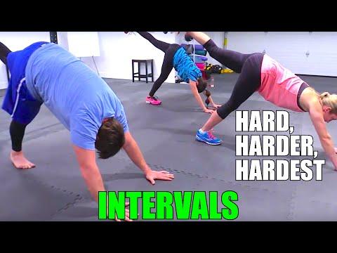 Hard, Harder, Hardest Intervals