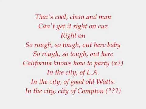 Ronnie Hudson - West Coast Poplock Lyrics