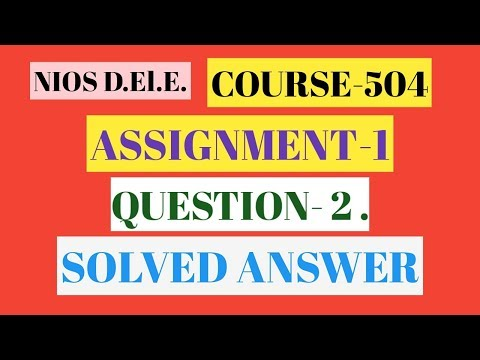 course-504 maths/assignment-1/question no-2 solved answer/Bedi online