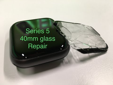 How to replace the glass on a Apple watch Series 5 40mm