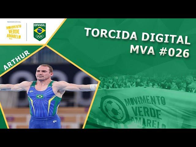 Torcida Digital MVA #026 - Tóquio 2020 - Finais com: Arthur Zanetti, Rebeca Andrade e Caio Souza