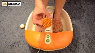 Покупателя гидромассажная ванна для ног US Medica Happy Feet