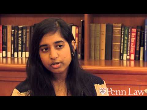Anjali Bushan talks about pursuing her JD/MSW at Penn
