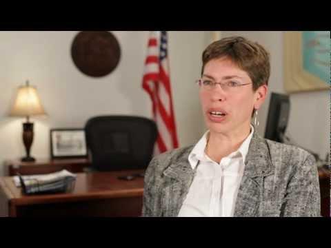 Chicago Sky - Lt. Governor Shelia Simon on Title IX