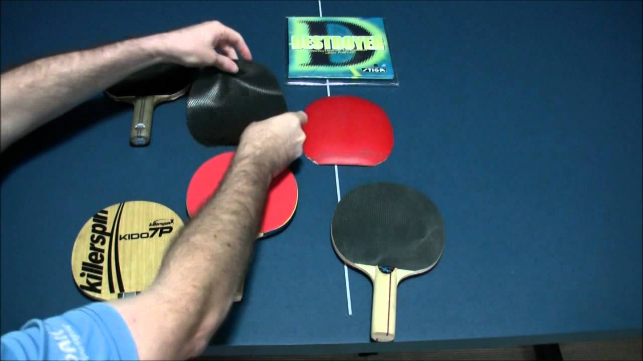 How To Win At Table Tennis Rubbers Blades And Premade Vs Custom Rackets You