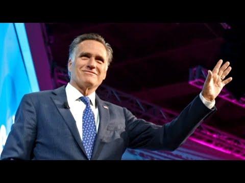 Mitt Romney announces Utah Senate bid