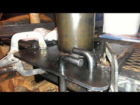 Stein single bollard lowering device