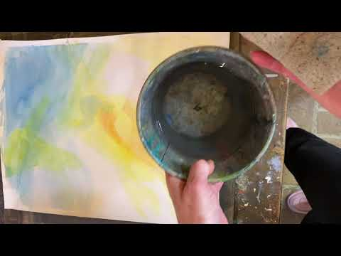 How to Re Stretch Veil Paintings