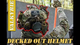 DECKED OUT AIRSOFT HELMET SETUP!!
