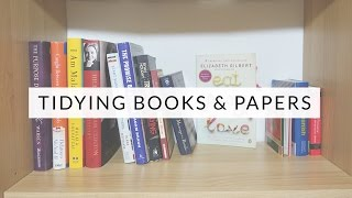 Tidying with KonMari: Books & Papers   Marie Kondo & The Life-Changing Magic of Tidying Up