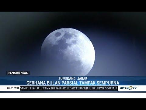 Fenomena Langka Gerhana Bulan Parsial